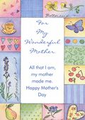 Mother's Day Card-Pastel Frame Card